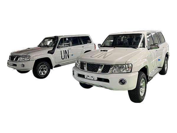 国連向け特装車